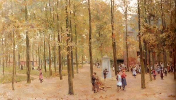 The Brink In Laren With Children Playing